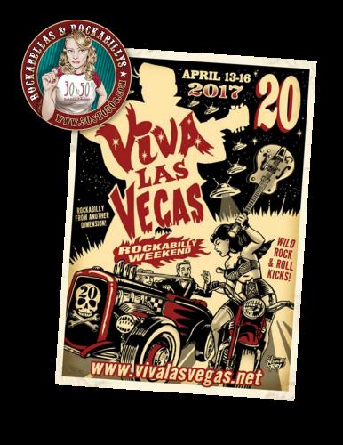 """Wir präsentieren euch das Viva Las Vegas #20 und starten hierzu die 30sto50s.com """"Rockin` Las Vegas"""" Tour, welche euch von TopVintage.de präsentiert wird"""